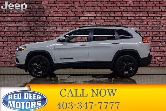 2019 Jeep Cherokee 4x4 Altitude Roof BCam Red Deer AB