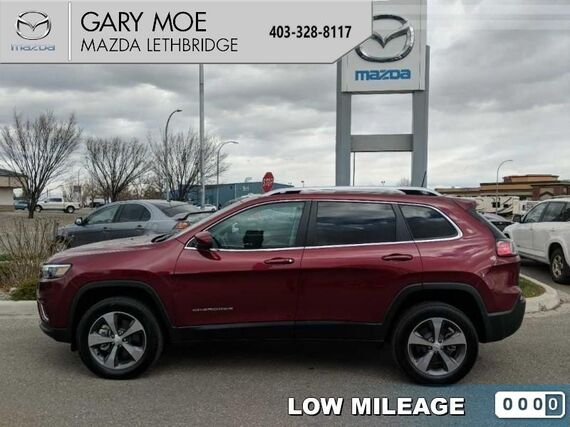 2019_Jeep_Cherokee_Limited  - Leather Seats -  Bluetooth_ Lethbridge AB