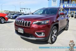 2019_Jeep_Cherokee_Limited / 4X4 / 3.2L V6 / Power & Heated Leather Seats / Heated Steering Wheel / Auto Start / Bluetooth / Back Up Camera / Blind Sport Alert / Power Liftgate / Keyless Entry & Start / Aluminum Wheels / 1-Owner_ Anchorage AK