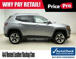 2019 Jeep Compass 4X4 w/Leather