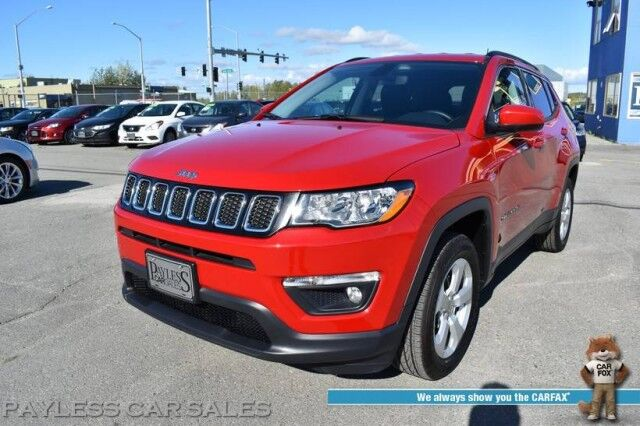 2019 Jeep Compass Latitude / 4X4 / Auto Start / Heated Leather Seats / Heated Steering Wheel / Keyless Entry & Start / Bluetooth / Back Up Camera / 31 MPG / Only 3k Miles Anchorage AK