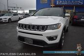 2019 Jeep Compass Limited / 4X4 / Auto Start / Power & Heated Leather Seats / Heated Steering Wheel / Bluetooth / Back Up Camera / Keyless Entry & Start / 1-Owner