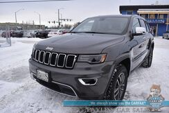 2019_Jeep_Grand Cherokee_Limited / 4X4 / Auto Start / Heated & Cooled Leather Seats / Heated Steering Wheel / Navigation / Panoramic Sunroof / Blind Spot Alert / Bluetooth / Back Up Camera / 25 MPG / 1-Owner_ Anchorage AK
