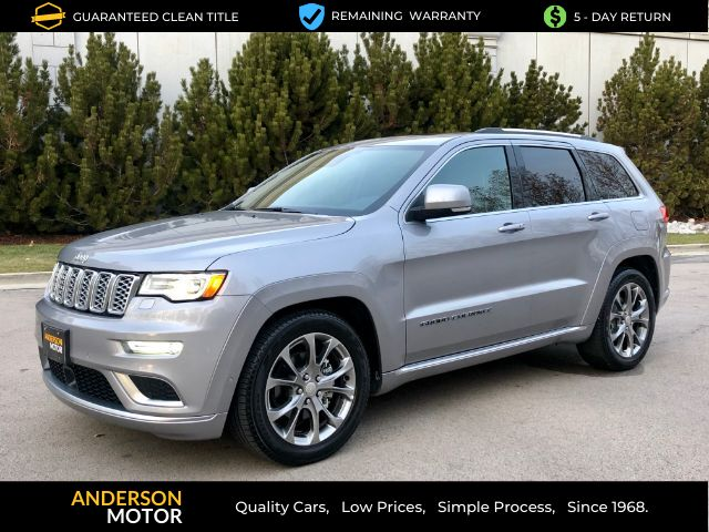 2019 Jeep Grand Cherokee Summit 4WD Salt Lake City UT