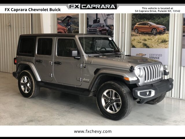 2019 Jeep Wrangler Unlimited Sahara Watertown NY