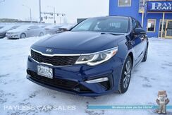 2019_Kia_Optima_LX / Automatic / Blind Spot Alert / Lane Departure Warning / Collision Avoidance Warning / Apple CarPlay & Android Auto / Bluetooth / Back Up Camera / Projection Headlights / Aluminum Wheels / Only 3K Miles / 1-Owner_ Anchorage AK
