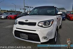 2019_Kia_Soul_+ / Primo Pkg / Heated & Cooled Leather Seats / Heated Steering Wheel / Blind Spot Alert / Lane Departure Warning / Panoramic Sunroof / Harman Kardon Speakers / Navigation / Bluetooth / Back Up Camera / 30 MPG / 1-Owner / Only 1k Miles_ Anchorage AK