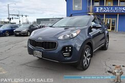 2019_Kia_Sportage_SX Turbo / AWD / Auto Start / Heated & Cooled Leather Seats / Heated Steering Wheel / Sunroof / Navigation / Harman Kardon Speakers / Blind Spot & Lane Departure Warning / Bluetooth / Back Up Camera / 1-Owner_ Anchorage AK