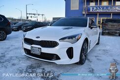 2019_Kia_Stinger_GT2 / AWD / Heated & Cooled Leather Seats / Heated Steering Wheel / Navigation / Sunroof / Harman Kardon Speakers / Brembo Brakes / Heads Up Display / Adaptive Cruise / Blind Spot & Lane Depart Alert / 1-Owner_ Anchorage AK
