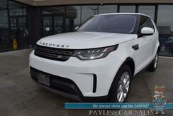 2019_Land Rover_Discovery_SE / AWD / Supercharged / Power Leather Seats / Navigation / Panoramic Sunroof / Lane Departure Alert / Keyless Entry & Start / Bluetooth / Back Up Camera / Apple CarPlay & Android Auto / 21 MPG / 1-Owner_ Anchorage AK