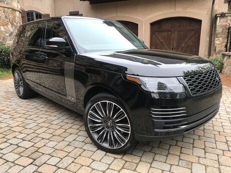 2019 Land Rover Range Rover Long Wheel Base Autobiography,with RED ROSSO EXECUTIVE interior Charlotte NC