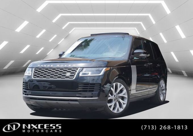 2019 Land Rover Range Rover V8 SUPERCHARGED Houston TX
