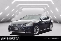Lexus LS LS 500 Adaptive Cruise Control Lane Keeping Assist Heated Steering Wheel. 2019