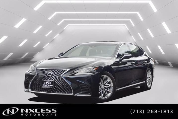 2019 Lexus LS LS 500 Adaptive Cruise Control Lane Keeping Assist Heated Steering Wheel. Houston TX