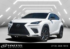 Lexus NX300 F Sport NX 300 F SPORT Premium Synthetic Factory Warranty. 2019