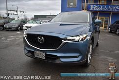 2019_Mazda_CX-5_Grand Touring / AWD / Power & Heated Leather Seats / Sunroof / Bose Speakers / Navigation / Blind Spot Alert / Lane Departure Warning / Adaptive Cruise Control / Bluetooth / Back Up Camera / 1-Owner_ Anchorage AK