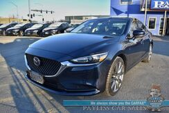2019_Mazda_Mazda6_Touring / Automatic / Heated Leather Seats / Sunroof / Navigation / Lane Departure Alert / Adaptive Cruise Control / Bluetooth / Back Up Camera / 35 MPG / 1-Owner_ Anchorage AK