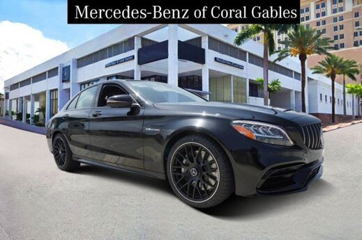2019 Mercedes-Benz C AMG® 63 Sedan Miami FL