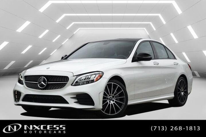 2019 Mercedes-Benz C-Class C 300 4Matic Loaded Only 2K Miles MSRP $54610! Houston TX