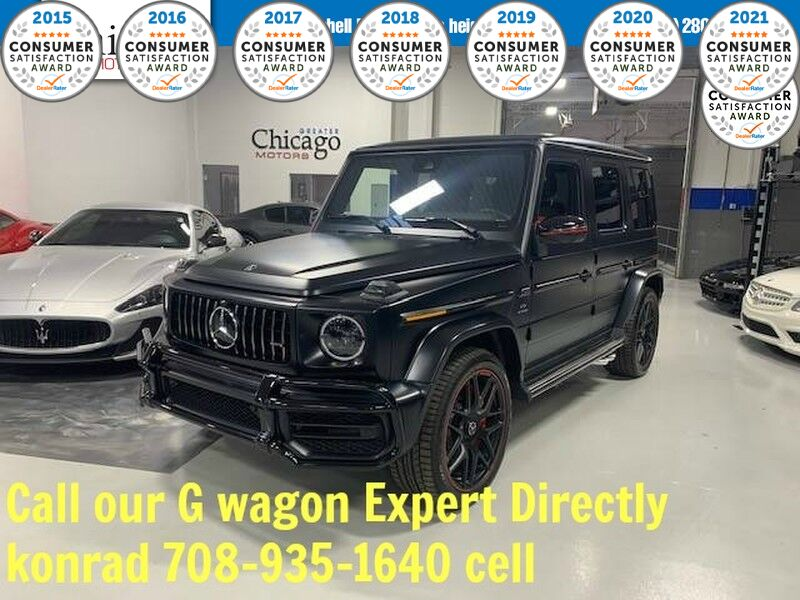 2019_Mercedes-Benz_G-Class_AMG G 63_ Glendale Heights IL