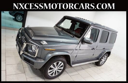 2019 Mercedes-Benz G-Class G 550 PREMIUM PKG BURMESTER AUDIO 3-ZONE A/C JUST 323 MILES. Houston TX
