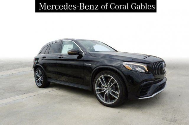 New 2019 Mercedes-Benz GLC AMG® 63 SUV in Coral Gables FL