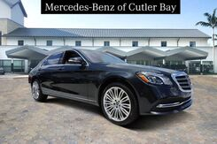 2019_Mercedes-Benz_S_450_ Miami FL