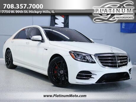 2019 Mercedes-Benz S 560 4Matic 1 Owner Sport Pkg Pano Nav Save Over $40K From MSRP $123,030 Loaded Hickory Hills IL
