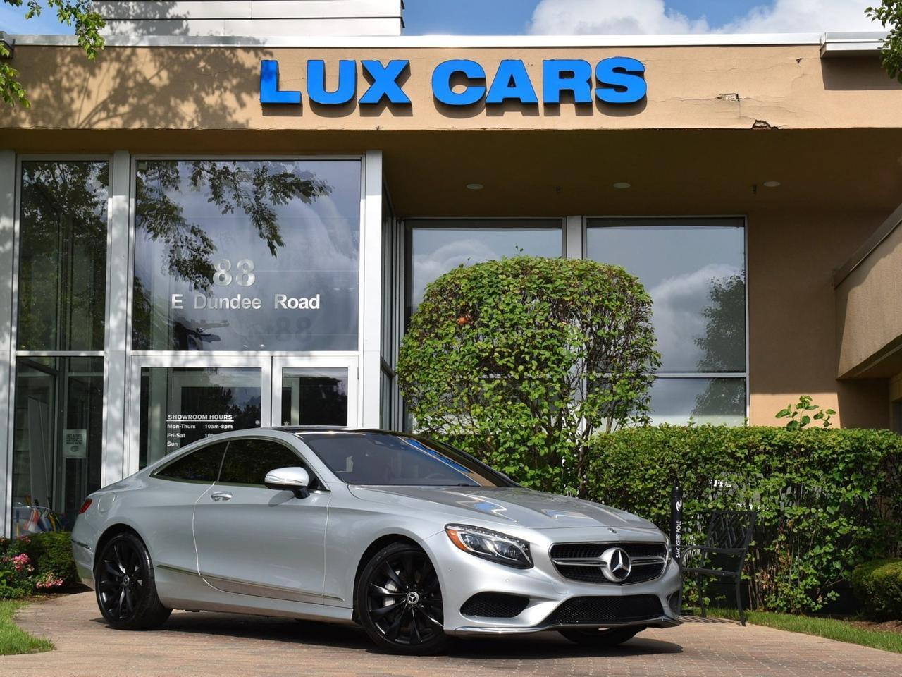 2019 Mercedes-Benz S560 Coupe Sport Nav 4MATIC MSRP $134,915 Buffalo Grove IL
