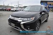 2019 Mitsubishi Outlander SEL / AWD / Heated Leather Seats / Heated Steering Wheel / Sunroof / Rockford Fosgate Speakers / Blind Spot Alert / Surround View Camera / Bluetooth / 29 MPG / 1-Owner