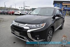 2019_Mitsubishi_Outlander_SEL / AWD / Heated Leather Seats / Heated Steering Wheel / Sunroof / Rockford Fosgate Speakers / Blind Spot Alert / Surround View Camera / Bluetooth / 29 MPG / 1-Owner_ Anchorage AK