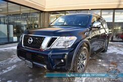 2019_Nissan_Armada_SL / 4X4 / Auto Start / Heated Leather Seats / Bose Speakers / Navigation / Sunroof / Blind Spot Alert / Adaptive Cruise Control / 3rd Row / Seats 8 / Bluetooth / Surround View Camera / Tow Pkg / 1-Owner_ Anchorage AK