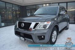 2019_Nissan_Armada_SV / AWD / Heated Seats / Navigation / Bose Speakers / 3rd Row / Seats 8 / Bluetooth / Back Up Camera / Cruise Control / 1-Owner_ Anchorage AK