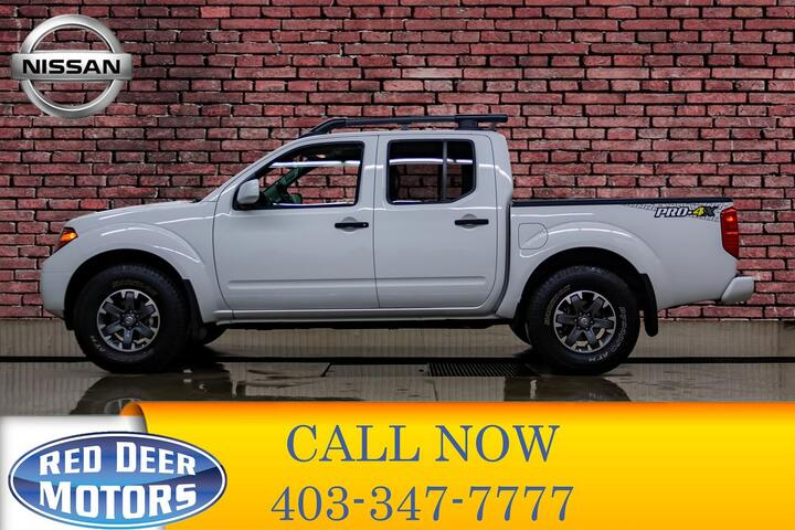 2019 Nissan Frontier 4x4 Crew Cab Pro-4X Leather Roof Nav Red Deer AB