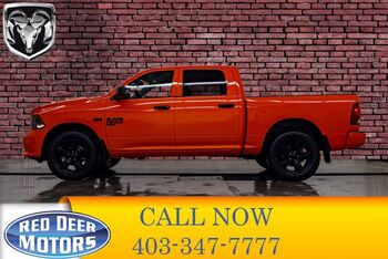 2019_Ram_1500 Classic_4x4 Crew Cab Express Blackout_ Red Deer AB