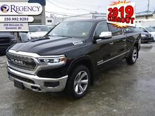 2019_Ram_1500_Limited  - Navigation -  Leather Seats_ Quesnel BC