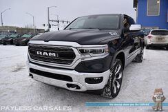 2019_Ram_1500_Limited / 4X4 / Air Suspension / Adv Safety Pkg / Crew Cab / Auto Start / Front & Rear Heated & Cooled Leather Seats / Sunroof / Harman Kardon Speakers / Navigation / Adaptive Cruise / Power Running Boards / Tow Pkg_ Anchorage AK