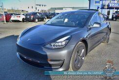 2019_Tesla_Model 3_AWD / Long Range Battery / Dual Motor / Auto Pilot Pkg / Heated Leather Seats / Panoramic Sunroof / Adaptive Cruise / Navigation / Bluetooth / Back Up Camera / 310 Mile Range / Low Miles / 1-Owner_ Anchorage AK