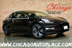 2019_Tesla_Model 3_Standard Range Plus - 1 OWNER REAR AUTOPILOT ENABLED SUBZERO PACKAGE BLACK LEATHER PANO ROOF BACKUP CAMERA_ Bensenville IL