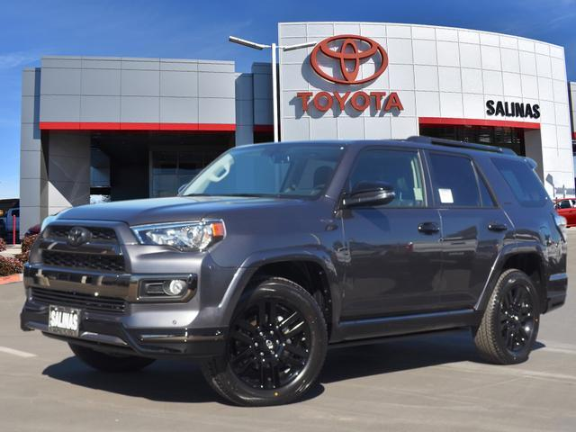 Tacoma Vs Tundra >> 2019 Toyota 4Runner Limited Night Shade Salinas CA 27037557