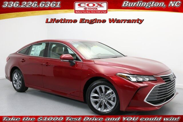 2019 Toyota Avalon Xle Burlington Nc