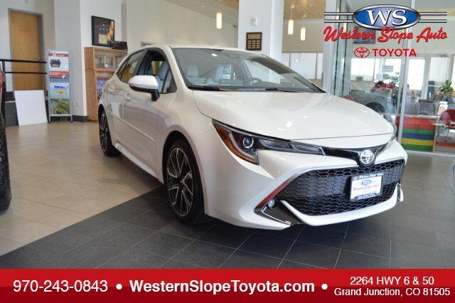 Great 2019 Toyota Corolla Hatchback XSE Grand Junction CO ...