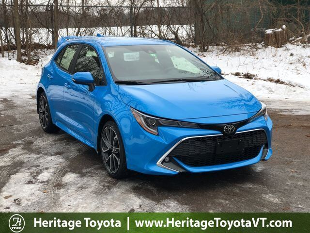 2019 Toyota Corolla Hatchback Xse South Burlington Vt 28054248