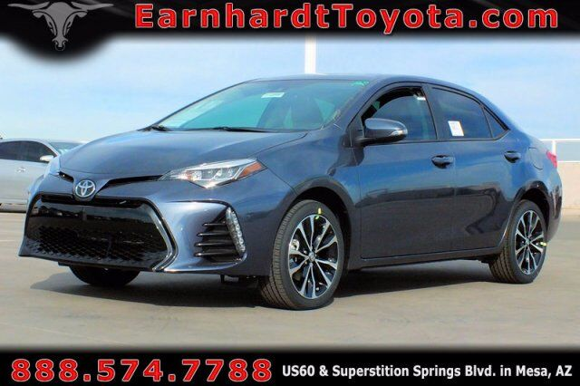 Vehicle Details 2019 Toyota Corolla At Earnhardt Toyota Mesa