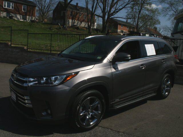 2019 Toyota Highlander Hybrid Limited Roanoke VA