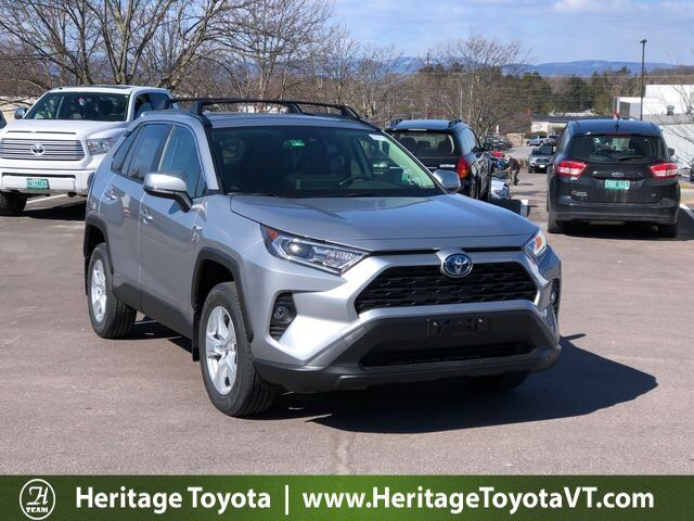 2019 Toyota Rav4 Hybrid Xle South Burlington Vt 29497101