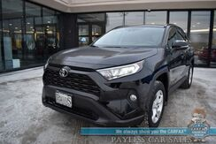 2019_Toyota_RAV4_XLE / AWD / Heated Seats / Navigation / Sunroof / Lane Departure & Blind Spot Alert / Bluetooth / Back Up Camera / 33 MPG / 1-Owner_ Anchorage AK