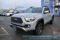 2019_Toyota_Tacoma_/ 4X4 / TRD Off Road Pkg / Double Cab / Automatic / Navigation / Lane Departure & Blind Spot Alert / Bluetooth / Back Up Camera / Cruise Control / Bed Liner / Tow Pkg / 22 MPG / 1-Owner_ Anchorage AK