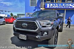 2019_Toyota_Tacoma_TRD Off Road / 4X4 / 6-Spd Manual / Double Cab / Navigation / Bluetooth / Back Up Camera / Blind Spot Assist / Lane Departure & Collision Alert / Bed Liner / Tonneau Cover / Tow Pkg / Only 2K Miles / 1-Owner_ Anchorage AK