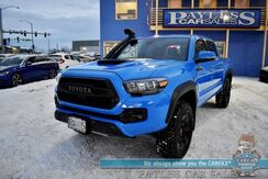2019_Toyota_Tacoma_TRD Pro / 4X4 / Heated Leather Seats / Navigation / JBL Speakers / Sunroof / Blind Spot & Lane Departure Alert / Snorkel Kit / Bluetooth / Back Up Camera / Bed Liner / Tow Pkg / 22 MPG / 1-Owner_ Anchorage AK